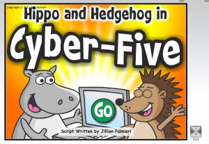Hippo and Hedgehog Cyber 5